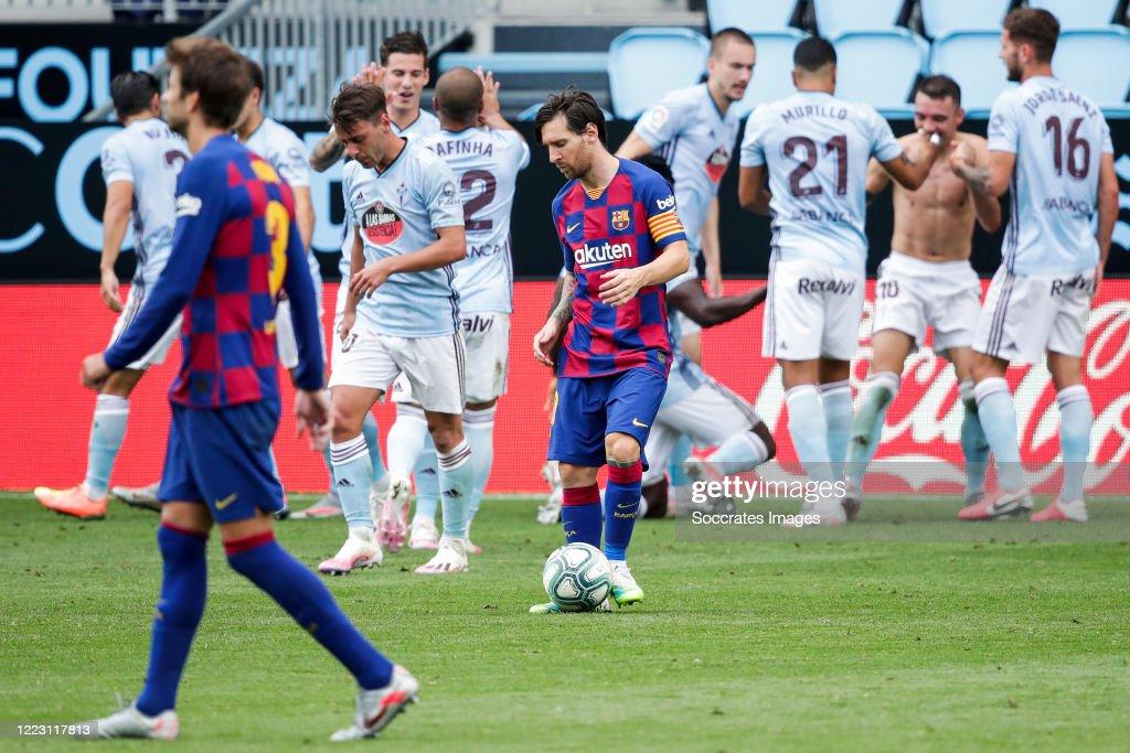 Celta de Vigo v FC Barcelona - La Liga Santander : News Photo
