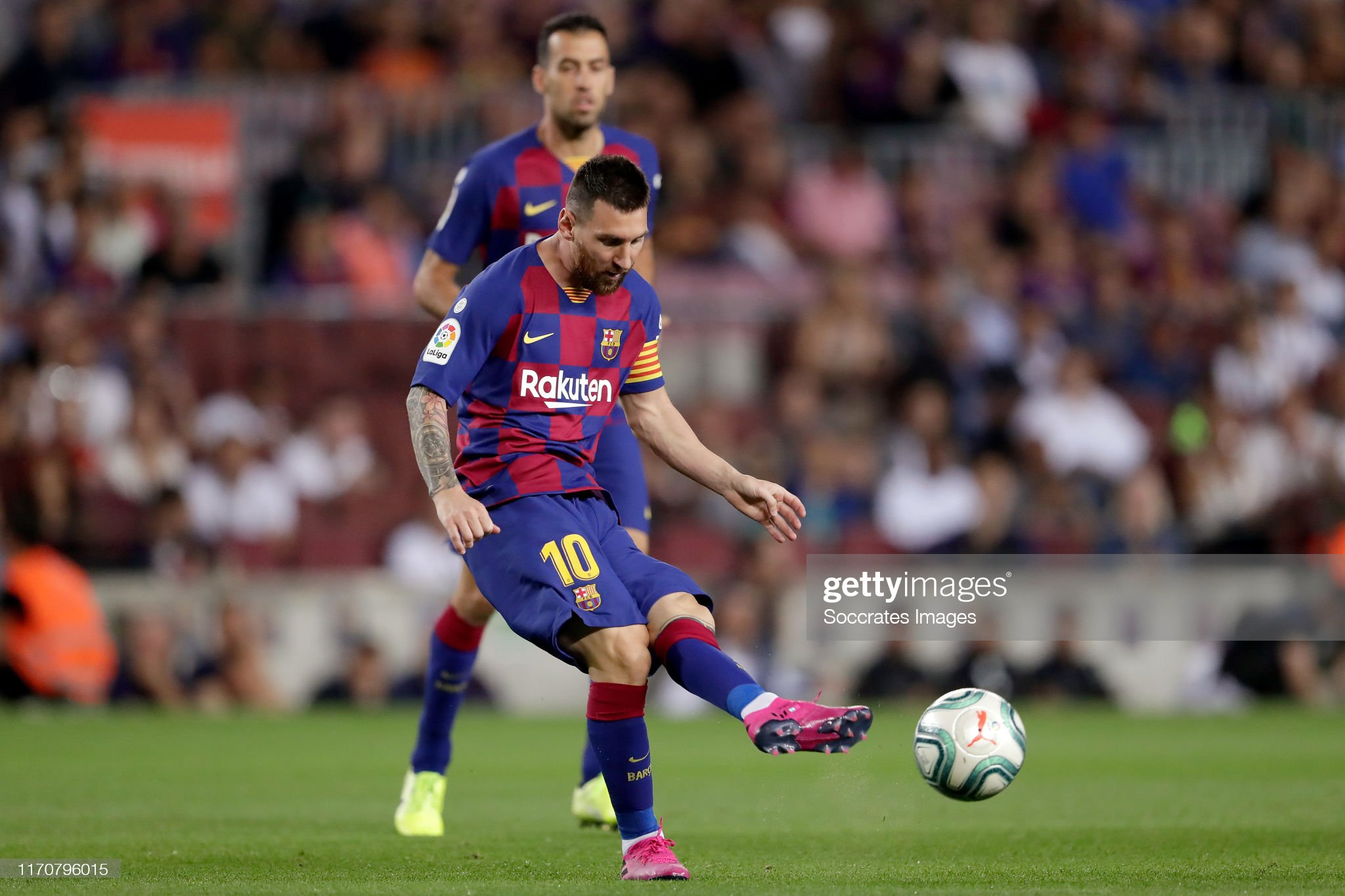 صور مباراة : برشلونة - فياريال 2-1 ( 24-09-2019 )  Lionel-messi-of-fc-barcelona-during-the-la-liga-santander-match-fc-picture-id1170796015?s=2048x2048