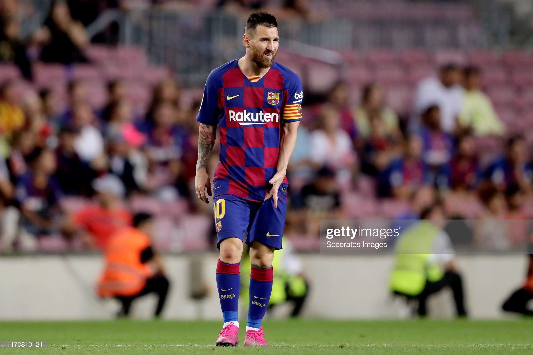 صور مباراة : برشلونة - فياريال 2-1 ( 24-09-2019 )  Lionel-messi-of-fc-barcelona-during-the-la-liga-santander-match-fc-picture-id1170810121?s=2048x2048