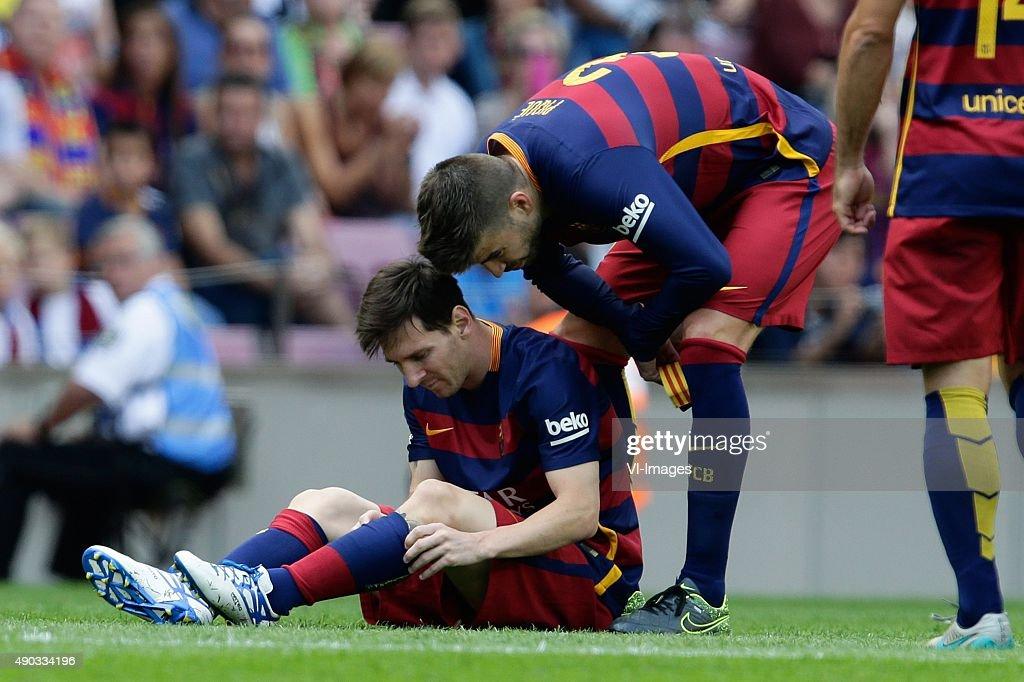 "Primera Division - ""Barcelona v Las Palmas"" : ニュース写真"
