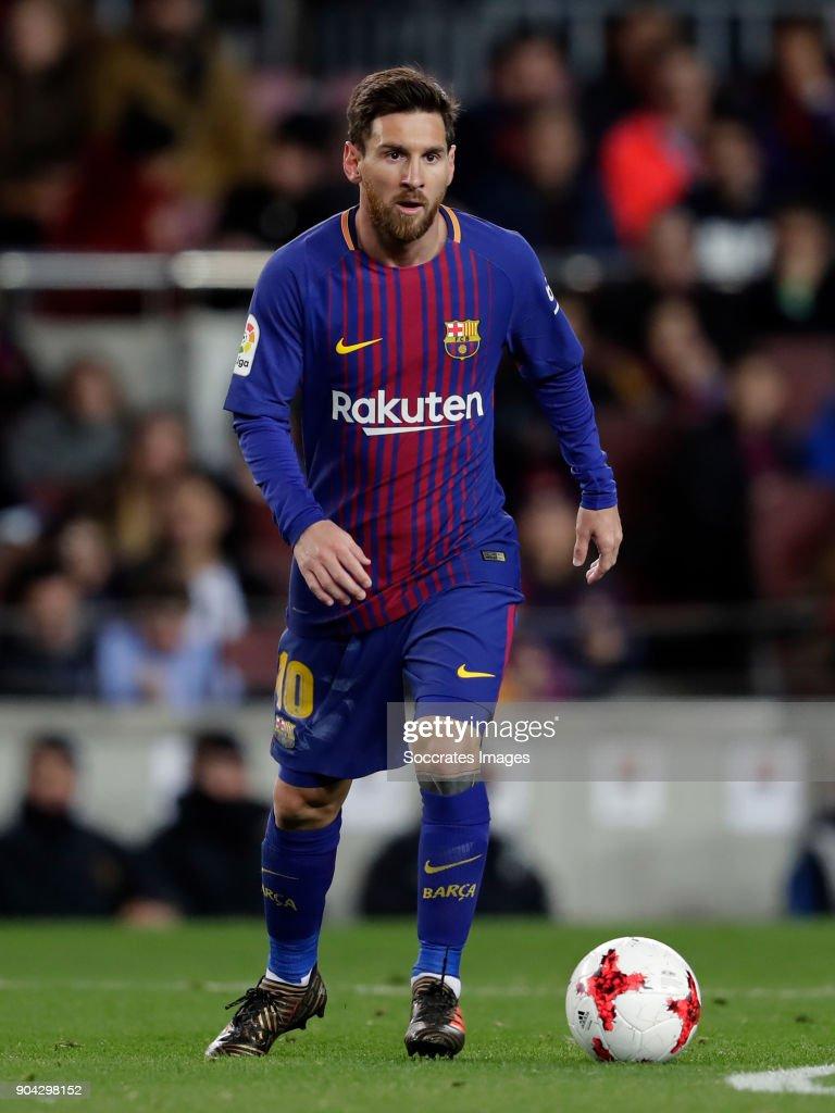 FC Barcelona v Celta de Vigo - Spanish Copa del Rey : Fotografía de noticias