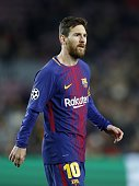 lionel messi fc barcelona during uefa