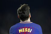 lionel messi fc barcelona during uefa