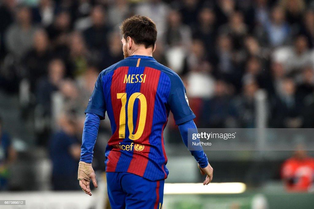 Juventus - Barcelona Champions League : News Photo