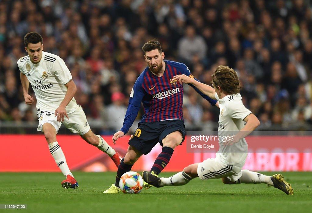 Real Madrid v FC Barcelona - Copa del Rey Semi Final: Second Leg : News Photo