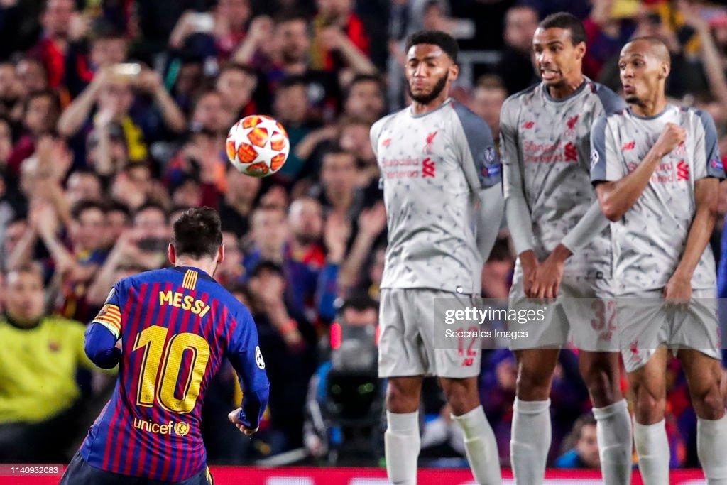 FC Barcelona v Liverpool - UEFA Champions League : News Photo