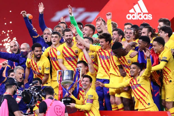 ESP: Athletic Club v FC Barcelona - Copa del Rey Final