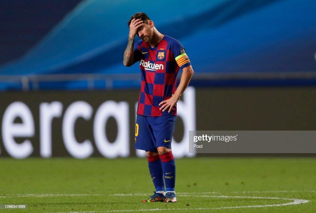 Barcelona v Bayern Munich - UEFA Champions League Quarter Final : ニュース写真