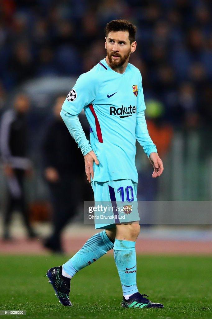 AS Roma v FC Barcelona - UEFA Champions League Quarter Final Leg Two : ニュース写真