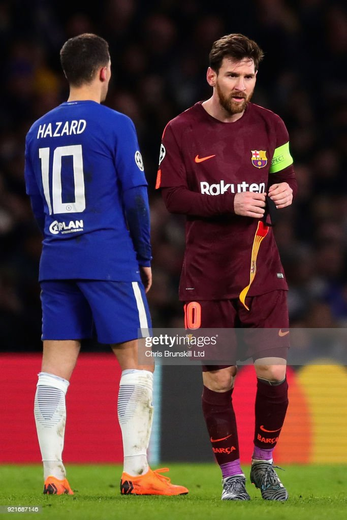 Chelsea FC v FC Barcelona - UEFA Champions League Round of 16: First Leg : ニュース写真