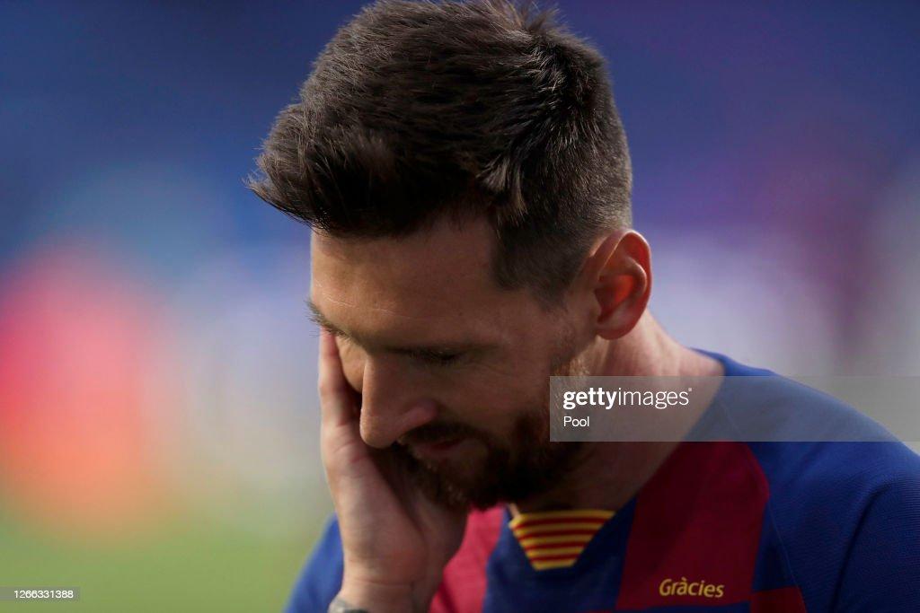 Barcelona v Bayern Munich - UEFA Champions League Quarter Final : News Photo