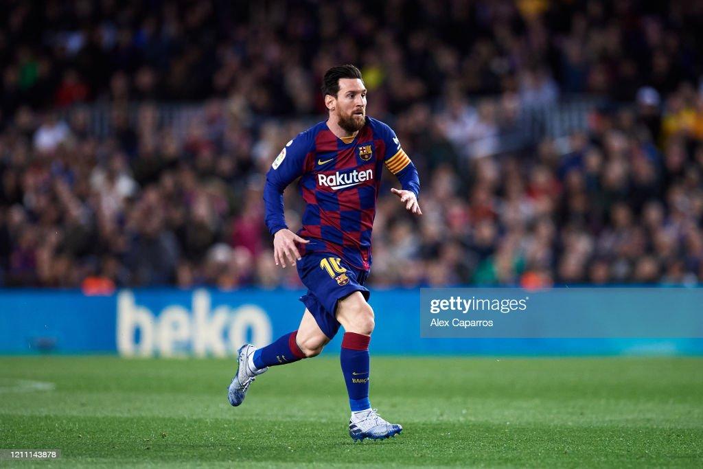 FC Barcelona v Real Sociedad  - La Liga : ニュース写真
