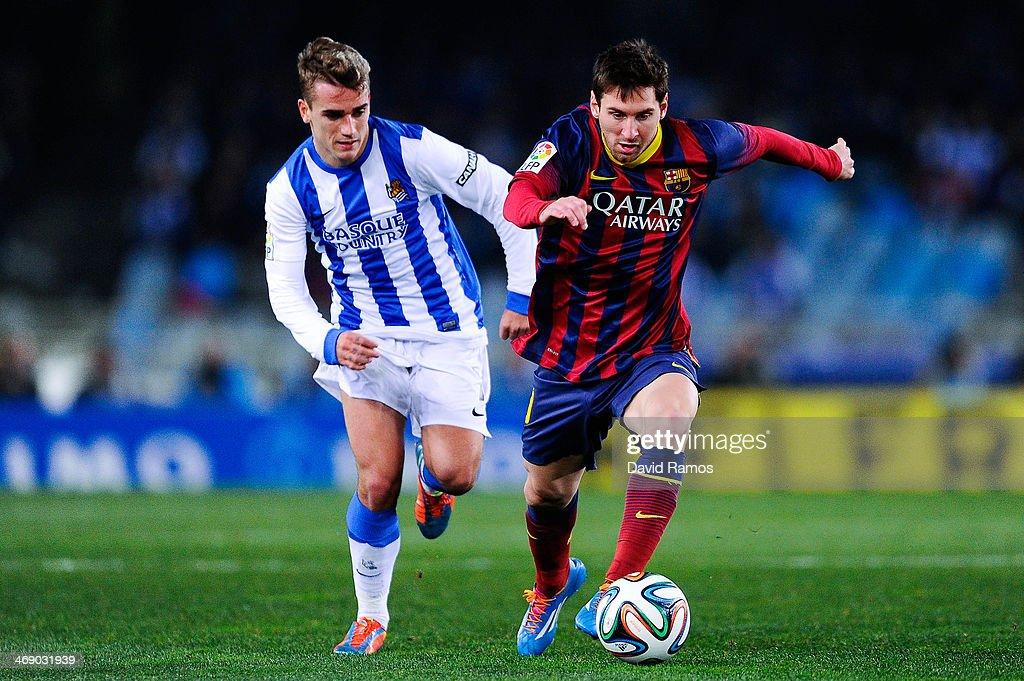 Real Sociedad v Barcelona - Copa del Rey: Semi Final Second Leg : News Photo