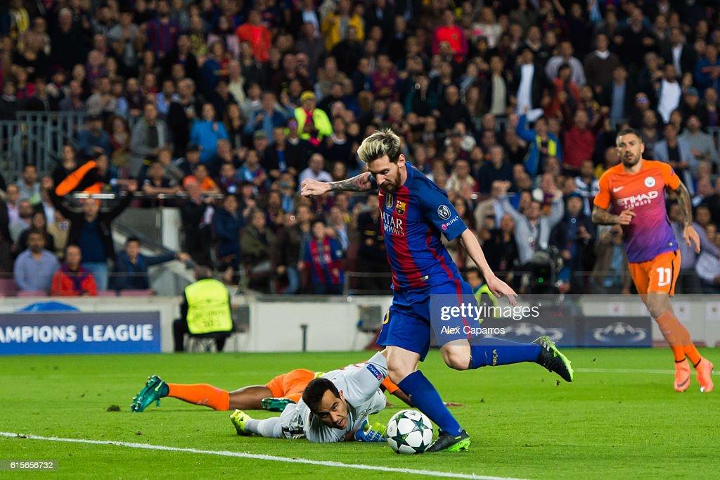 FC Barcelona v Manchester City FC - UEFA Champions League : News Photo