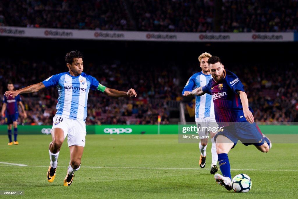 Barcelona v Malaga - La Liga : ニュース写真