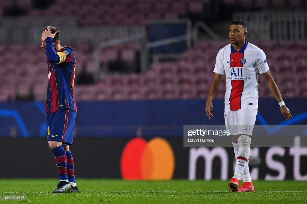 FC Barcelona v Paris Saint-Germain  - UEFA Champions League Round Of 16 Leg One : News Photo