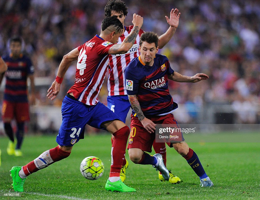 Club Atletico de Madrid v FC Barcelona - La Liga : News Photo