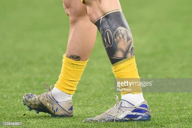 293 Lionel Messi Tattoo Photos And Premium High Res Pictures Getty Images