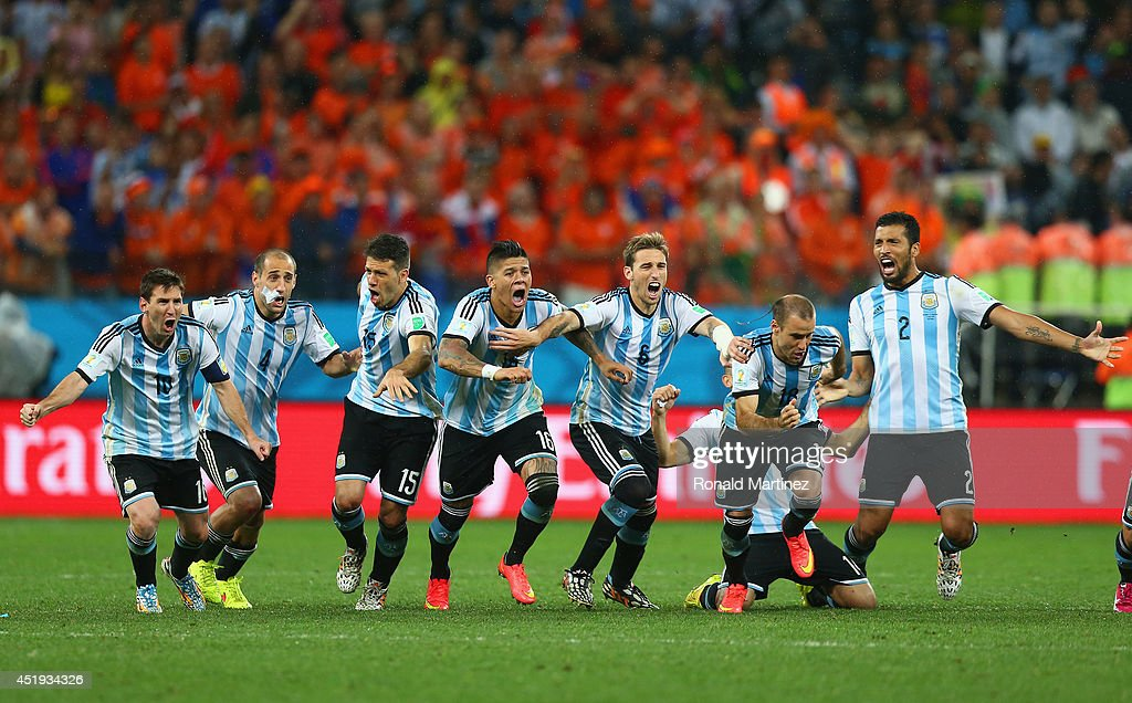Netherlands v Argentina: Semi Final - 2014 FIFA World Cup Brazil : News Photo