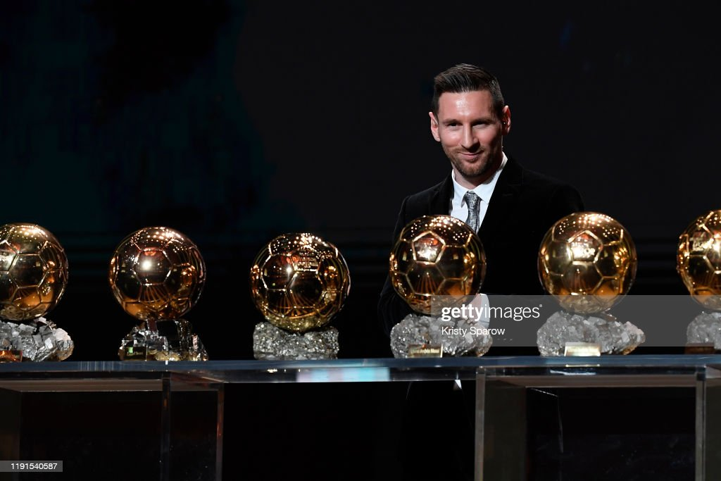 Ballon D'Or Ceremony At Theatre Du Chatelet : Inside Ceremony In Paris : ニュース写真
