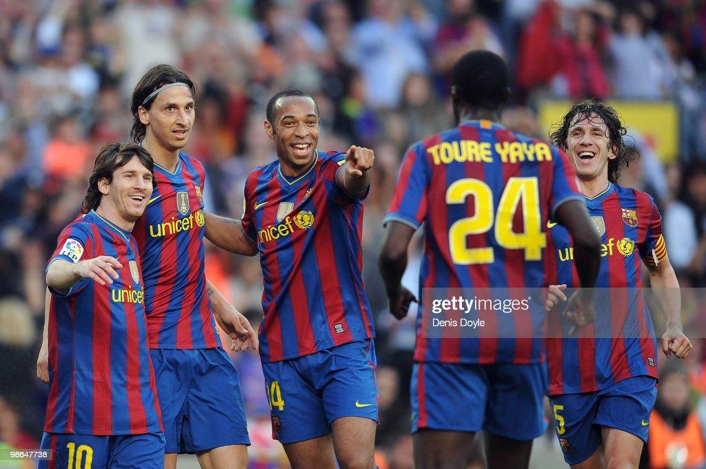 Barcelona v Xerez CD - La Liga : News Photo