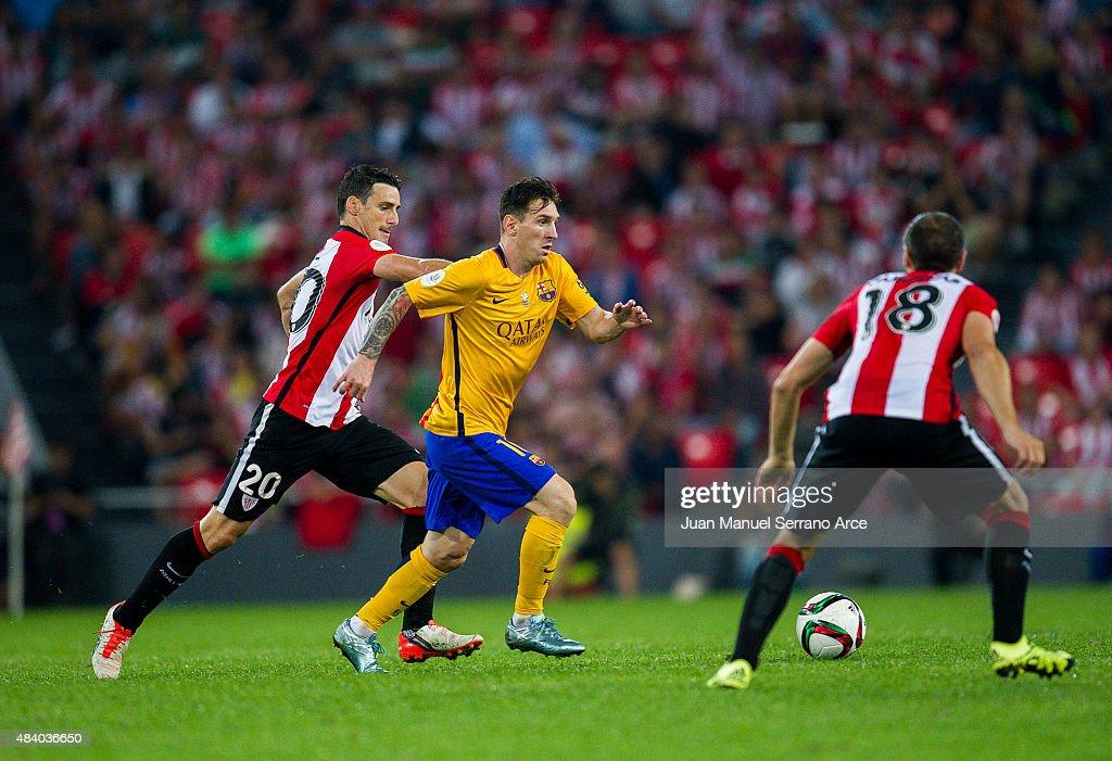 Athletic Club v Barcelona - Spanish Super Cup: First Leg : News Photo