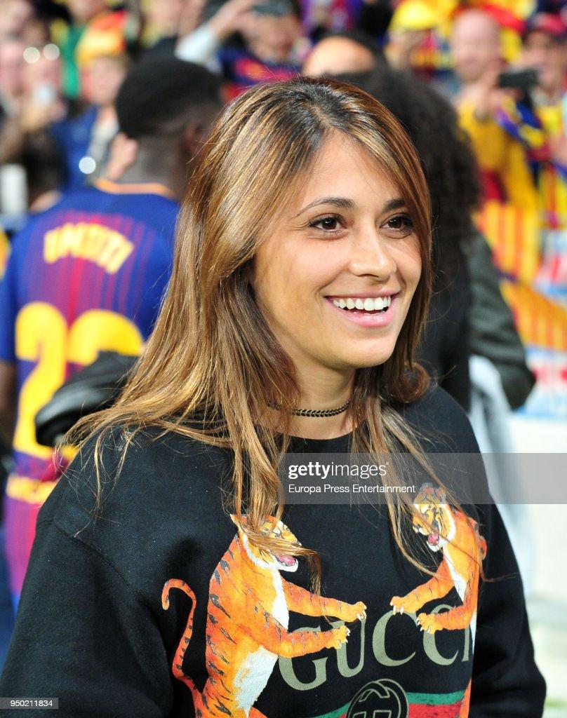 Barcelona Vs Sevilla - Spanish Copa del Rey Final : News Photo