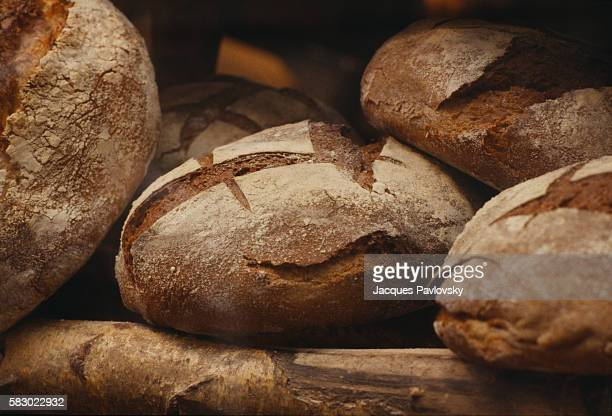 Lionel Poilane's famed sourdough loaves of bread are baked in the traditional oven at the worldfamous bakery in Rue du Cherche Midi