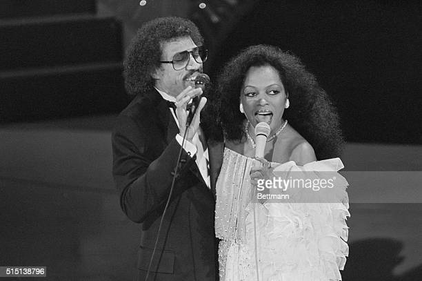 Lionel Richie and Diana Ross perform Richie's song Endless Love which was nominated for an Oscar at the 54th annual Academy Awards ceremonies