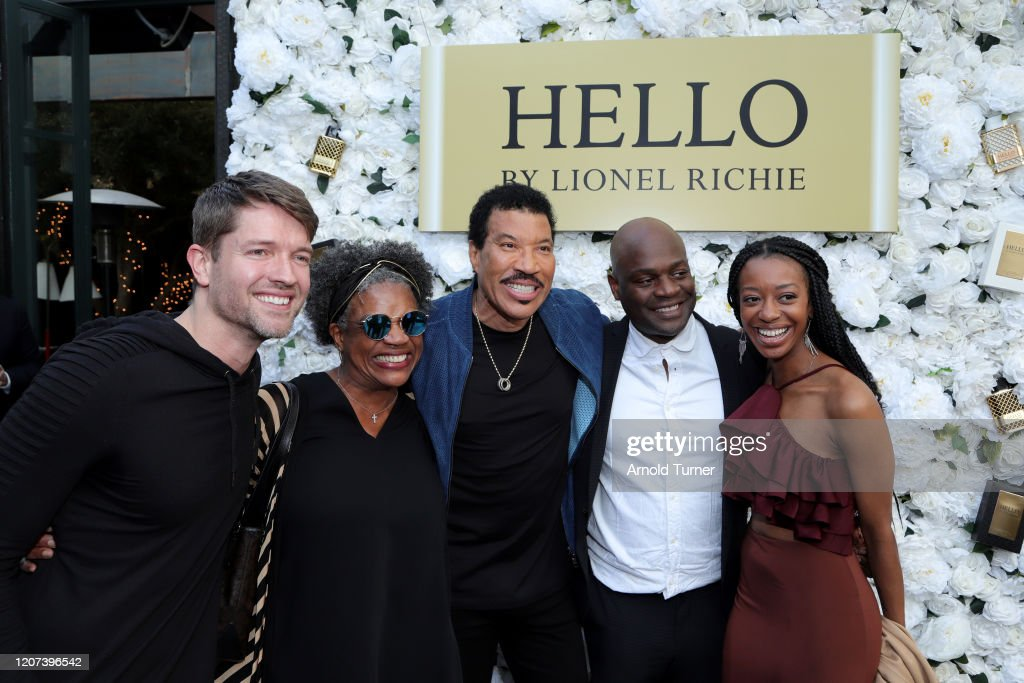International Superstar Lionel Richie Celebrates His Premiere Fragrance Line, HELLO By Lionel Richie, In LA, Inspired By His Passion For Love And Music : ニュース写真