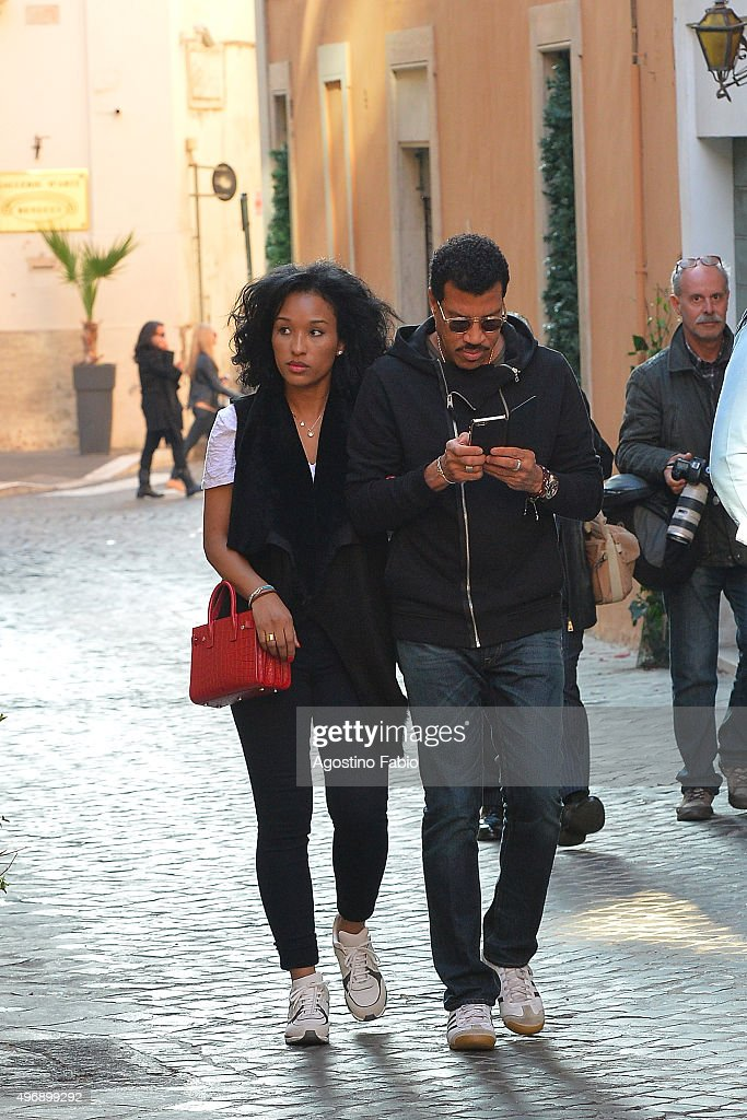 Celebrity Sighting in Rome - November 12, 2015
