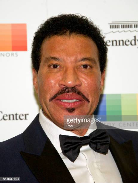 Lionel Richie arrives for the formal Artist's Dinner honoring the recipients of the 40th Annual Kennedy Center Honors hosted by United States...