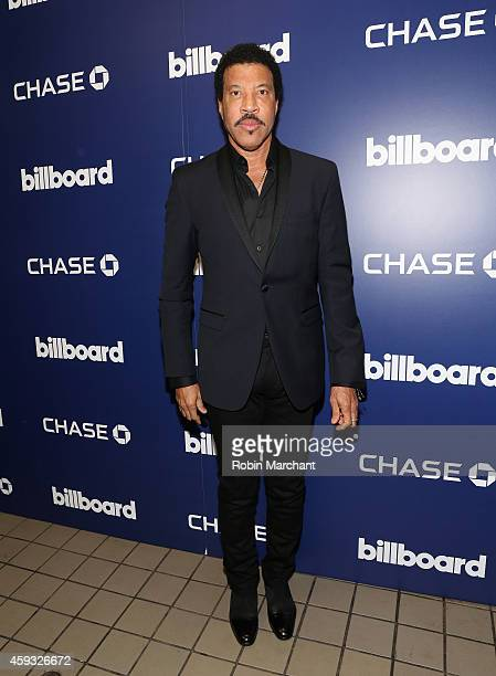 Lionel Richie attends 2014 Billboard Touring Awards at The Edison Ballroom on November 20 2014 in New York City