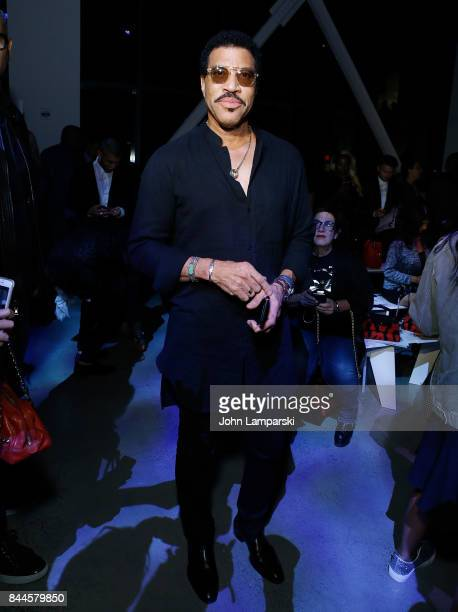 Lionel Richie attends Jeremy Scott collection during the September 2017 New York Fashion Week The Shows on September 8 2017 in New York City