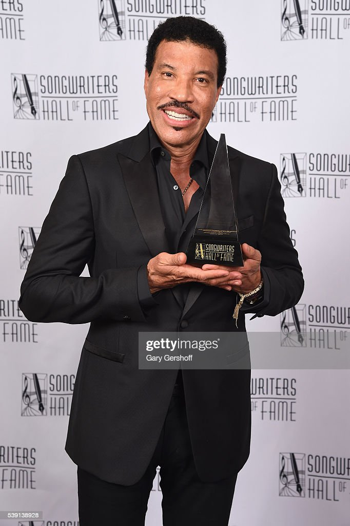 Lionel Richie attends Songwriters Hall Of Fame 47th Annual Induction And Awards at Marriott Marquis Hotel on June 9, 2016 in New York City.