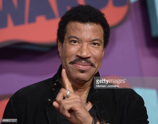 Lionel Richie attends the 2014 CMT Music awards at the Bridgestone Arena on June 4 2014 in Nashville Tennessee