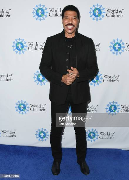 Lionel Richie attends the 2018 World Of Children Hero Awards at Montage Beverly Hills on April 19 2018 in Beverly Hills California