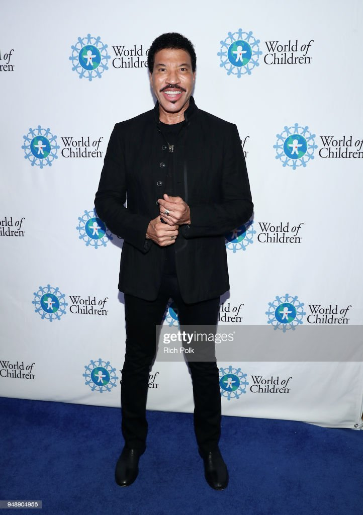 Lionel Richie attends the 2018 World of Children Hero Awards Benefit at Montage Beverly Hills on April 19, 2018 in Beverly Hills, California.