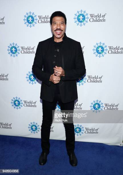Lionel Richie attends the 2018 World of Children Hero Awards Benefit at Montage Beverly Hills on April 19 2018 in Beverly Hills California