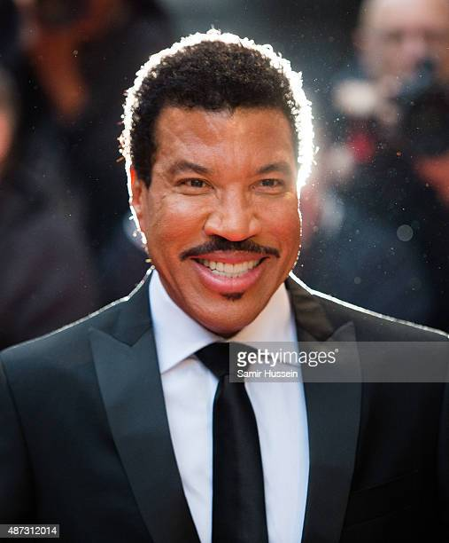 Lionel Richie attends the GQ Men Of The Year Awards at The Royal Opera House on September 8 2015 in London England
