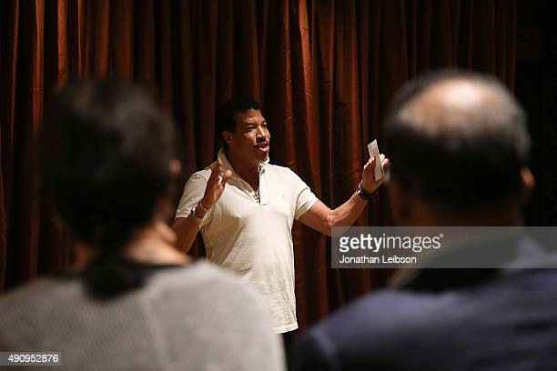Lionel Richie attends the Screening Of Short Subject Documentary The Tuskegee Airmen Sacrifice And Triumph From Director Joshua Colover on October 1...