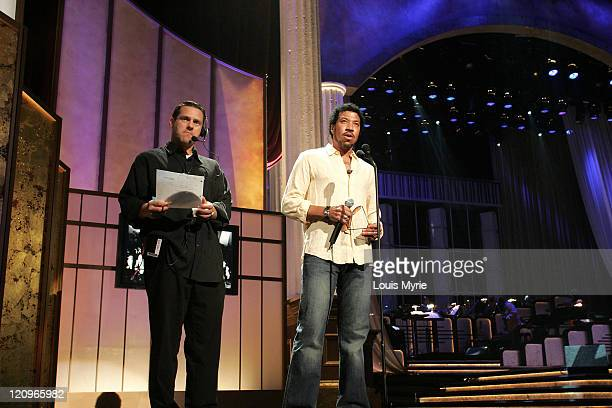Lionel Richie during The United Negro College Fund Hosts An Evening of Stars Tribute to Quincy Jones - Rehearsals in Hollywood, California, United...