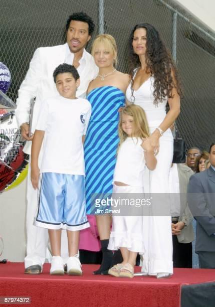 Lionel Richie Nicole Richie wife Diane and children
