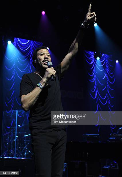 Lionel Richie performs at ACL Live as part of 2012 SXSW Music Film Interactive Festival Day 6 on March 14 2012 in Austin Texas