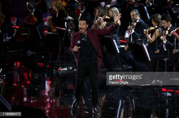 Lionel Richie performs at the Paul VI Hall during Vatican annual Christmas Concert on December 14, 2019 in Vatican City, Vatican.