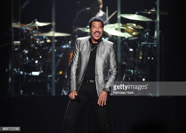 Lionel Richie performs in Concert at Madison Square Garden on August 19 2017 in New York City
