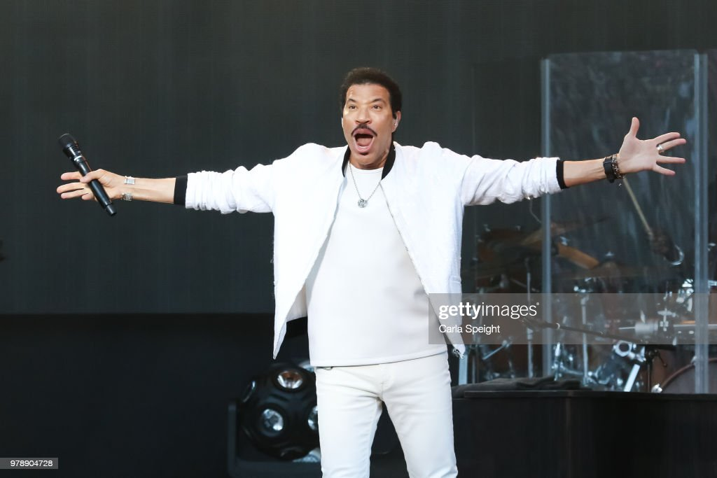 Lionel Richie Performs At Scarborough Open Air Theatre