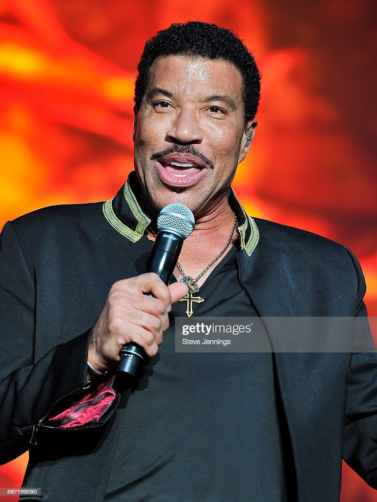 Lionel Richie performs on Day 3 of Outside Lands Music & Arts Festival at Golden Gate Park on August 7, 2016 in San Francisco, California.
