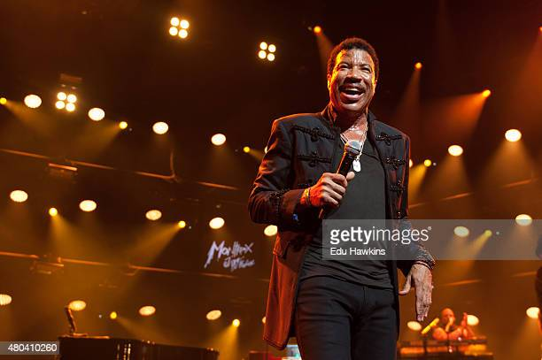 Lionel Richie performs on stage at Auditorium Stravinski on July 11 2015 in Montreux Switzerland