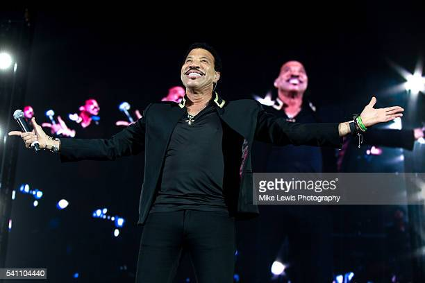 Lionel Richie performs on stage at Liberty Stadium on June 16 2016 in Swansea Wales